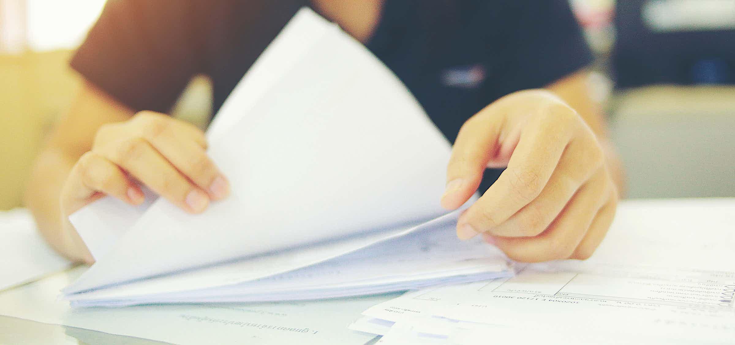 Eine kluge Verfahrensdokumenation bedeutet: mit System dokumentieren.