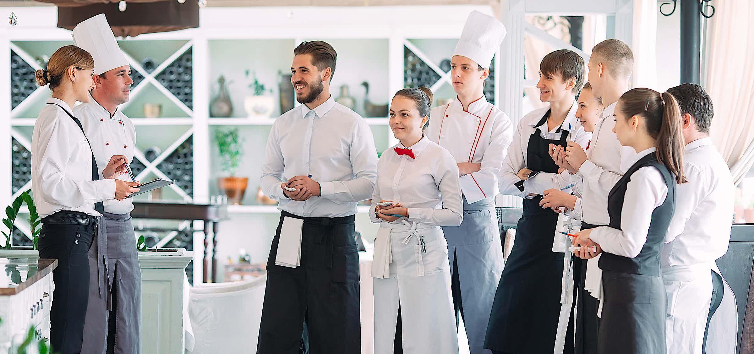 Gastro-Personal begrüßt neuen Kollegen