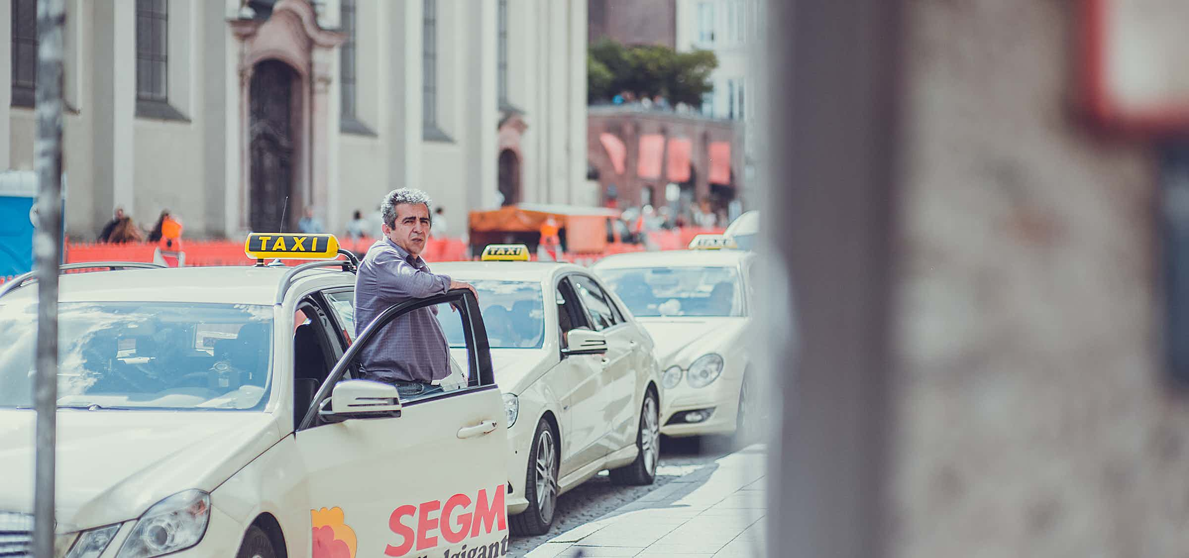 Kassensystem Taxifahrer