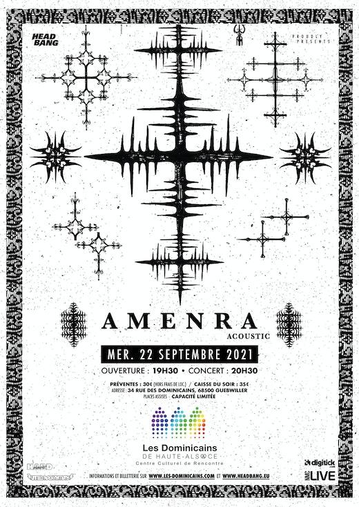 Amenra concert acoustique dominicains guebwiller 2021
