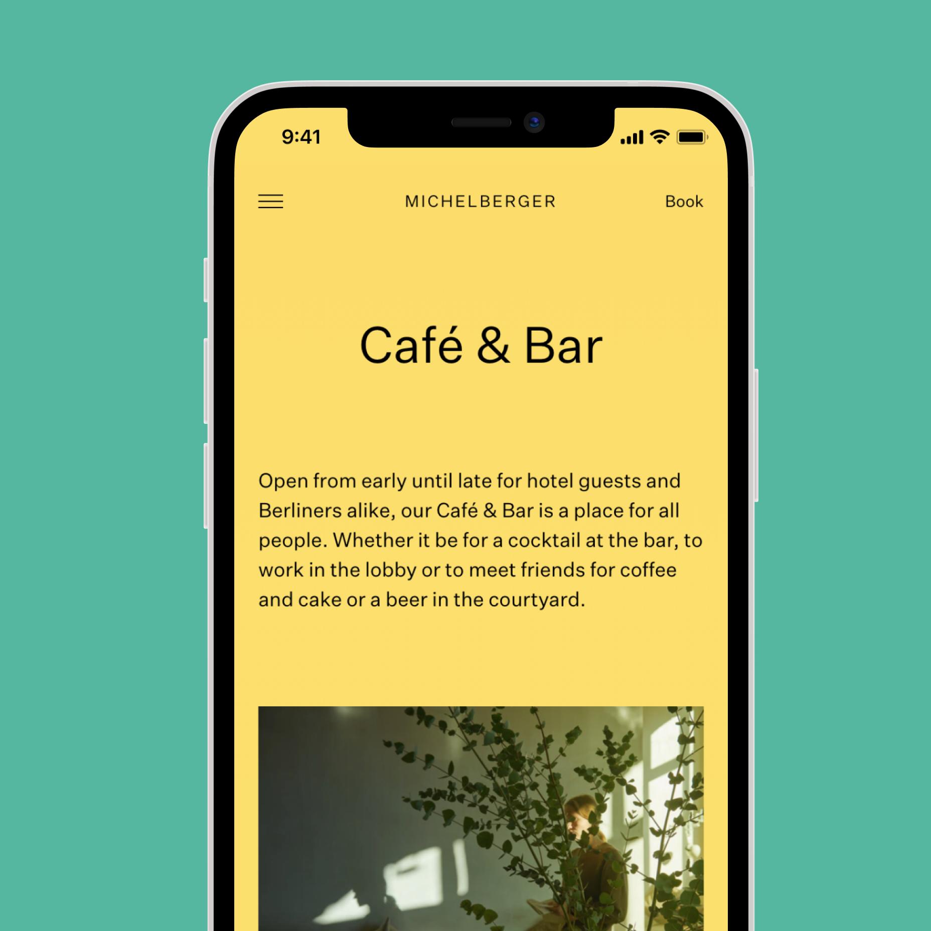 Mobile Cafe & Bar Website