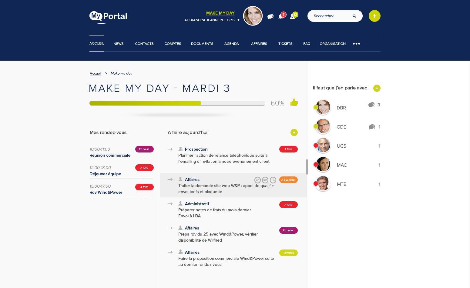 Alternative Salesforce : MyPortal CRM