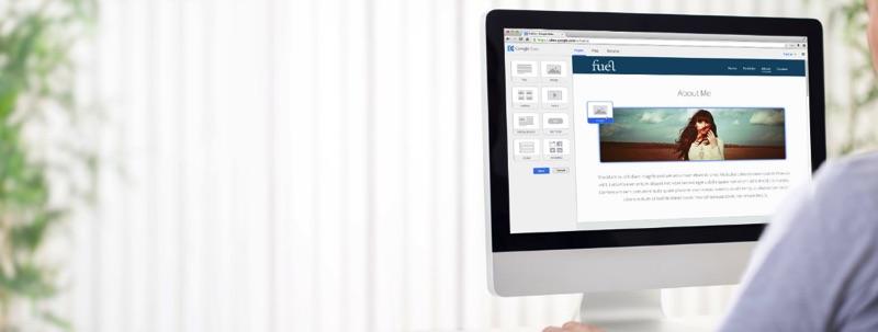 Google Sites, Site Builder propriétaire basique mais redoutablement efficace