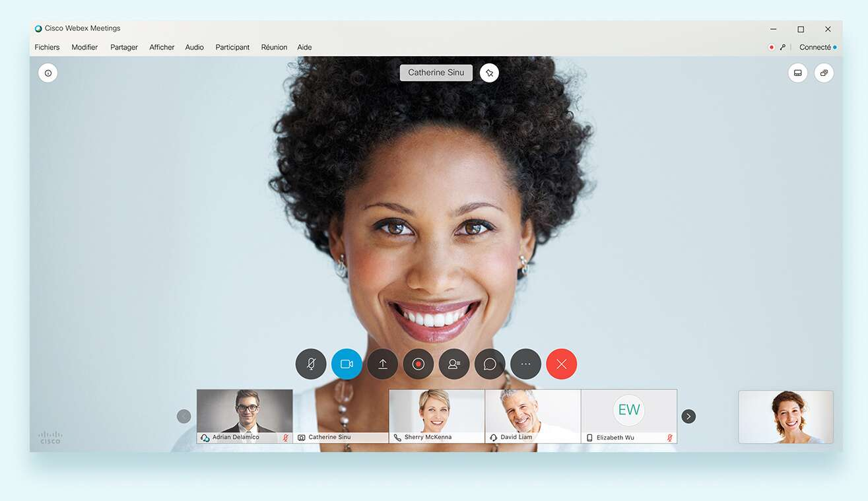 Alternative Skype : Webex