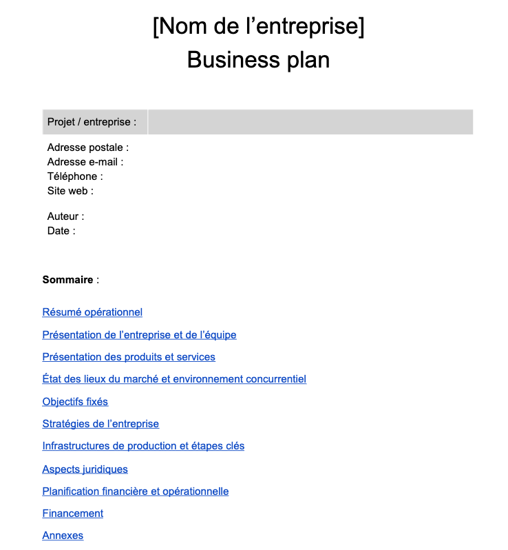 business-plan_exemple-concret_sommaire-detaille