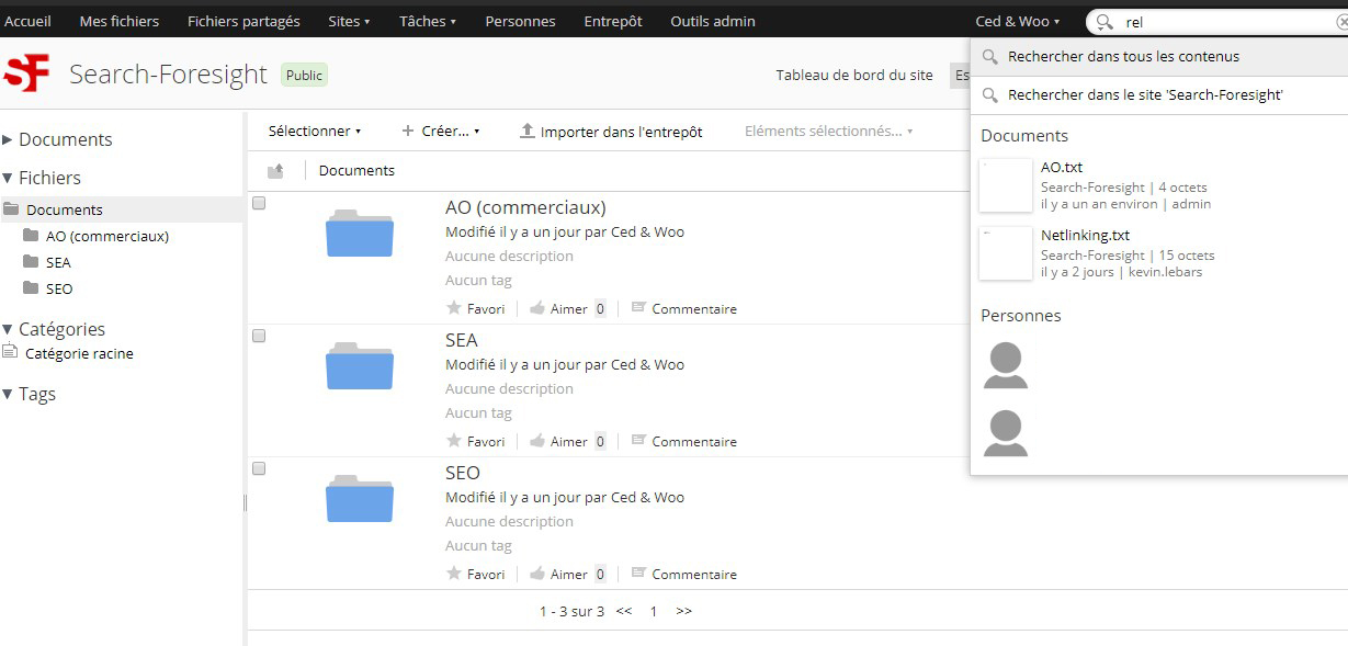 GED open source : Alfresco