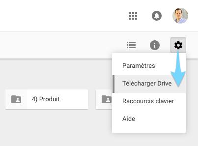 Télécharger Google Drive pour synchroniser ses documents