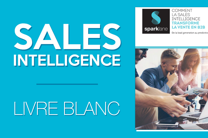 Livre blanc : la Sales Intelligence révolutionne la vente B to B