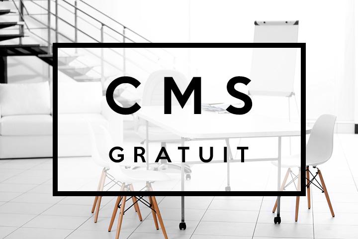 CMS gratuit, une bonne idée pour mon site ?