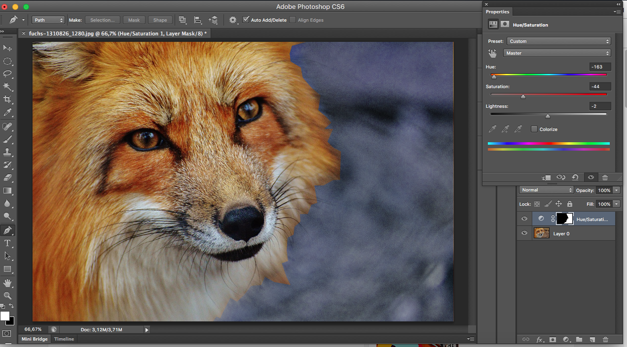 claque tutoriel photoshop