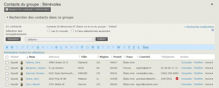 CiviCRM en français : module de gestion des bénévoles