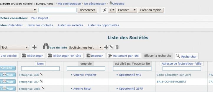 Creme CRM : le CRM Open Source Français