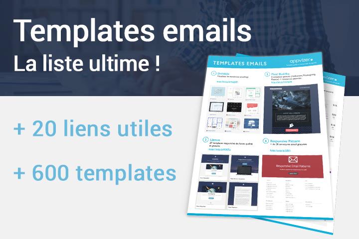 Template email : 600 exemples testés, responsive ou gratuits