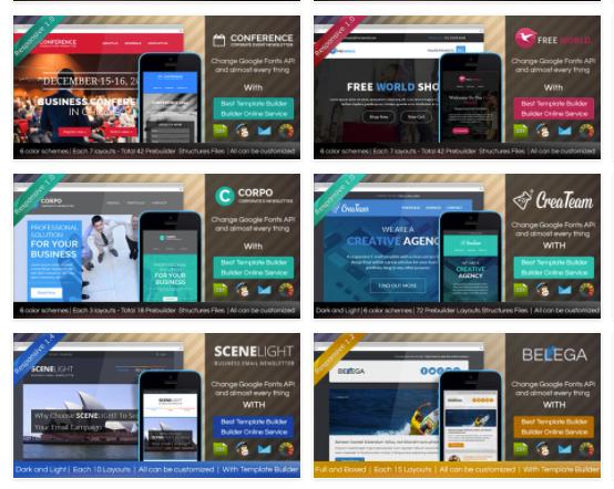 Digith: 3 modèles de template personnalisables gratuits