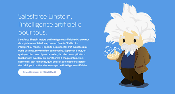 Sales Cloud Einstein, la business intelligence selon Salesforce