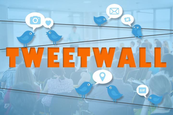Tweetwall : les outils d'animation d'événement, connectez votre public !