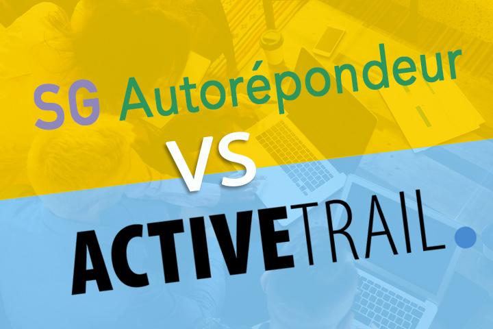 SG Autorépondeur vs ActiveTrail : caractéristiques et comparaison