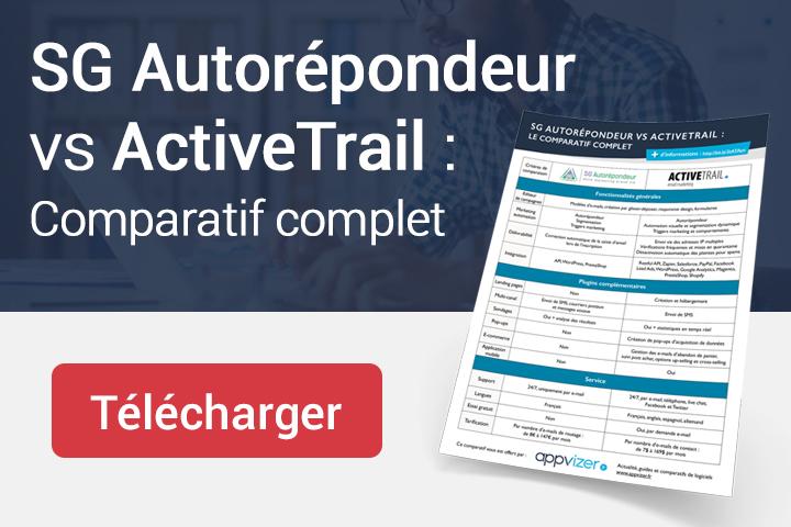 SG Autorépondeur vs ActiveTrail : Comparatif complet