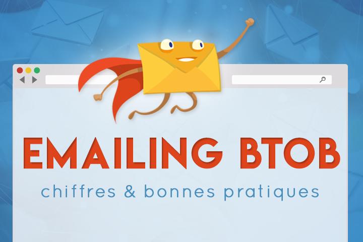 Campagnes emailing BtoB : chiffres clés et bonnes pratiques