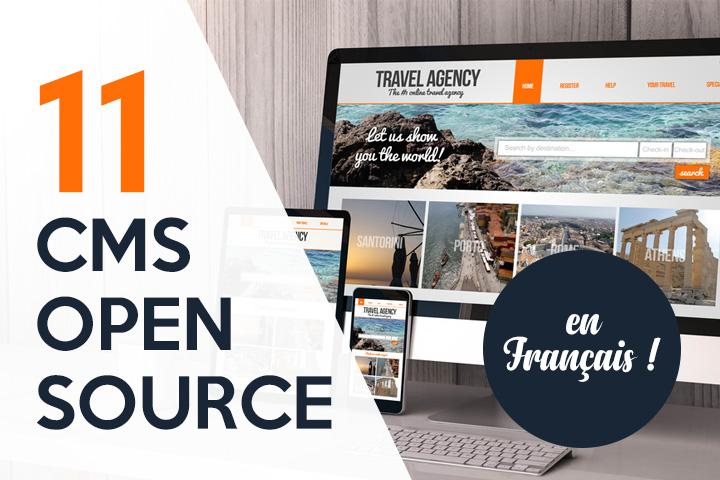 11 CMS open source en français pour créer un site web professionnel