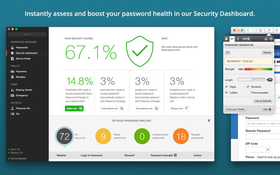 Crypter les données sensibles avec Dashlane