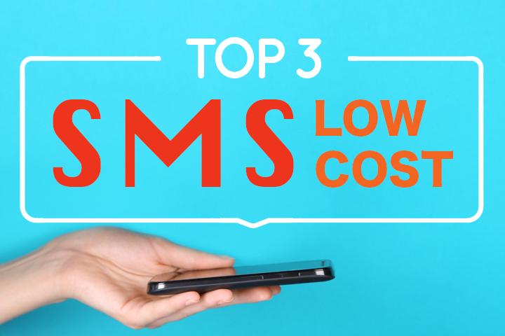 SMS low cost : les meilleures solutions de campagne SMS comparées