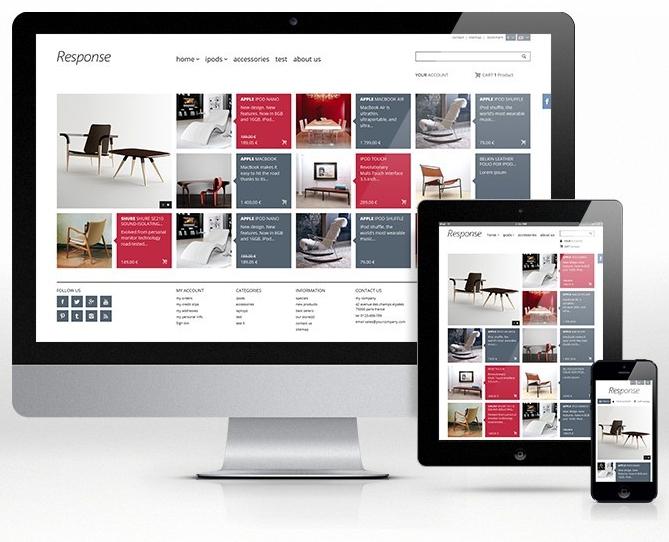 Vendre en ligne : exemple de site ecommerce responsive