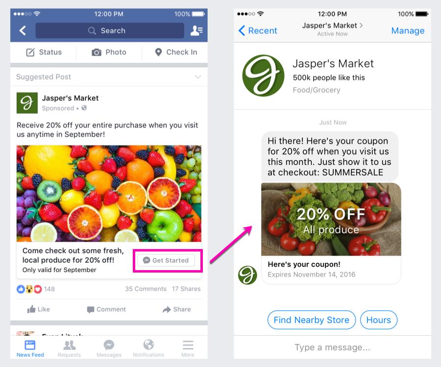 Vendre en ligne : campagne Facebook Ads