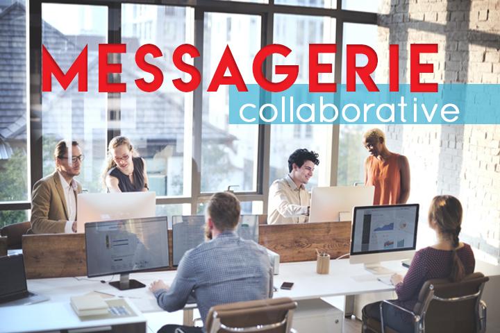 Pourquoi travaille-t-on plus efficacement avec une messagerie collaborative ?