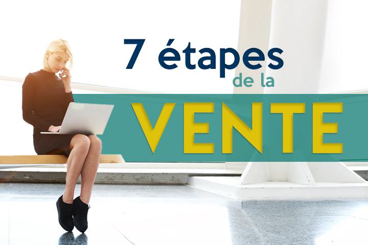 Les 7 étapes de la vente pour réussir son entretien commercial