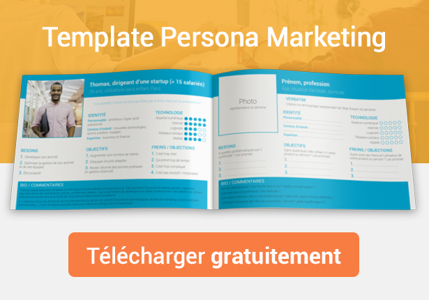 Template persona marketing à télécharger