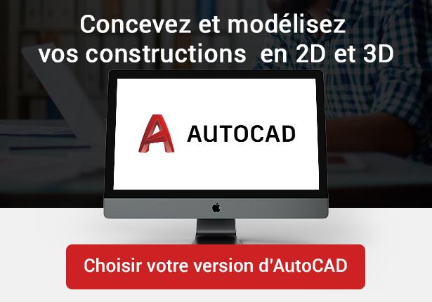 Choisir sa version d'AutoCAD