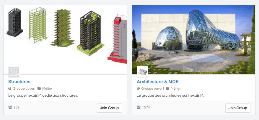 plateforme hexabim groupe architecture et bim.