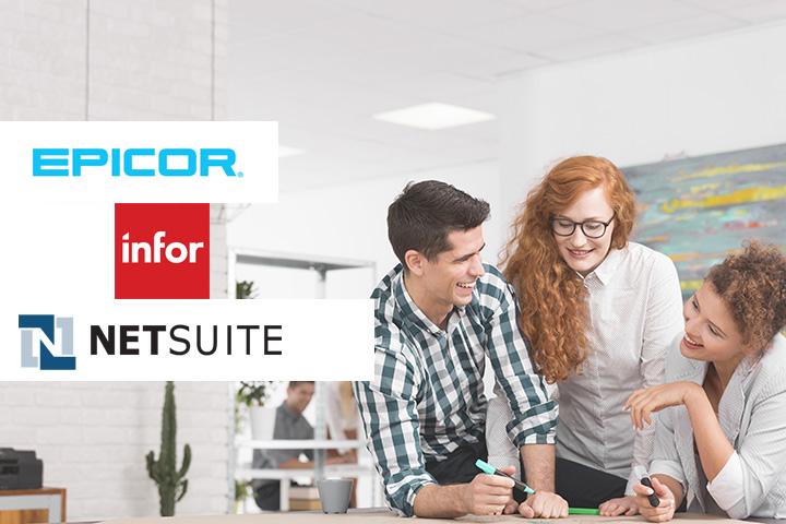 Comparatif des principaux ERP pour TPE-PME : Epicor, Infor et NetSuite