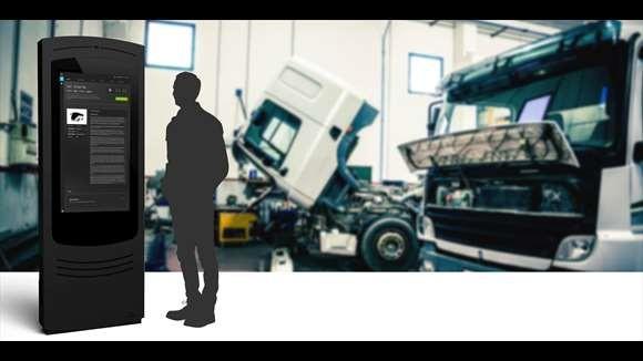 le Mechanic's Kiosk d'Infor EAM