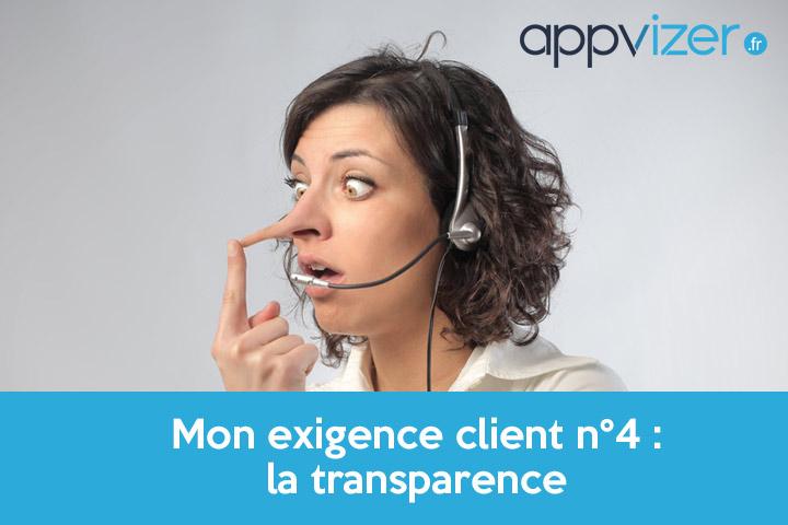 exigence client n°4 : la transparence