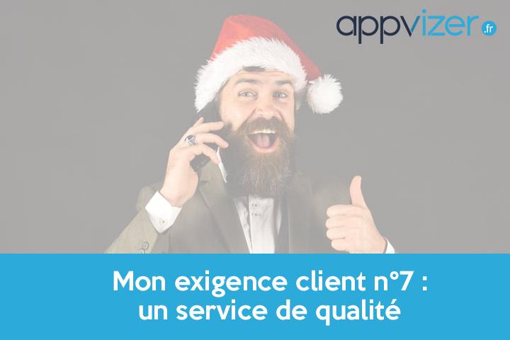 exigence client n°7 : un service de qualité