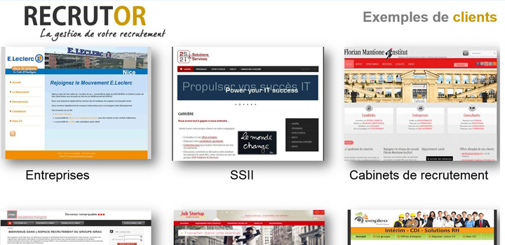 Recrutor : logiciel de recrutement en ligne