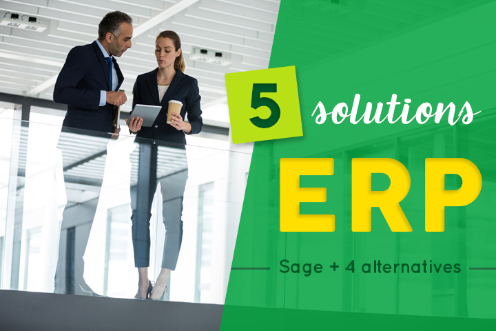 4 solutions ERP alternatives à Sage
