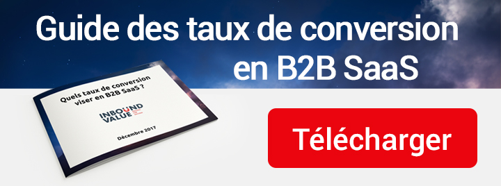 Guide des taux de conversion en B2B SaaS