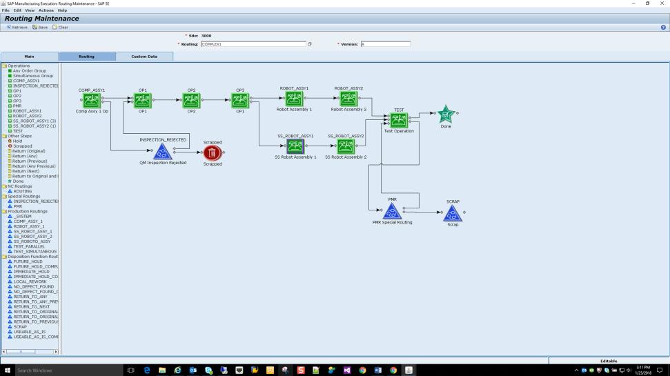 SAP Manufacturing Execution logiciel gestion de production