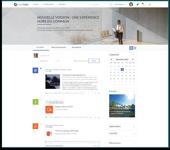 Lively réseau social d'entreprise intranet