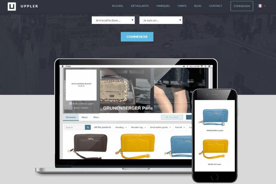 Plateforme e-commerce Uppler marketplace B2B