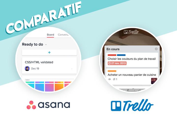 Comparatif Asana Trello : prix, fonctionnalités, ergonomie, services