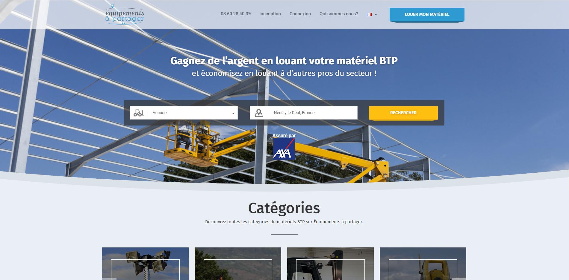 Exemple de marketplace B2B créée avec Cocolabs