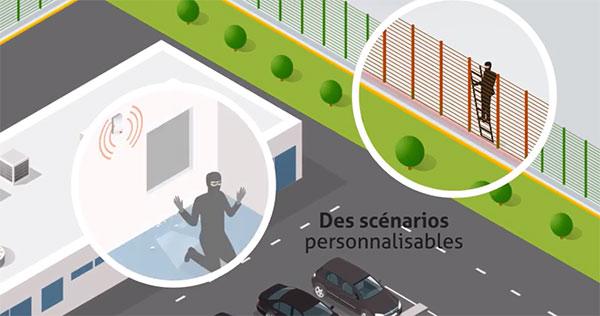 alarme et télésurveillance pour la sécurité en entreprise