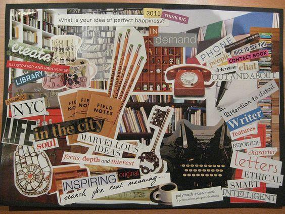 images inspirantes pour construire son vision board