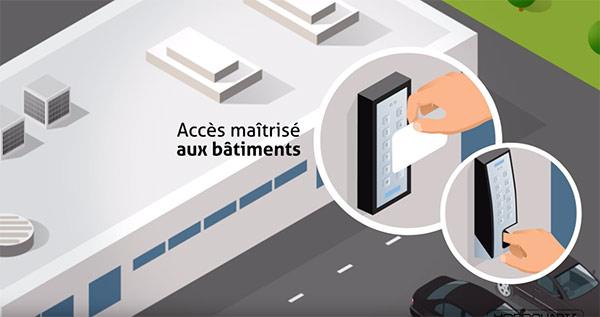 Le contrôle des accès aux bâtiments