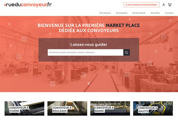 marketplace B2B conçue avec Wizaplace