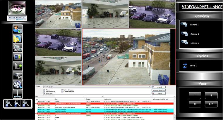 Protecsys 2 Suite : système de vidéosurveillance